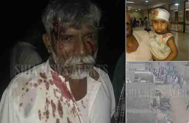 تصویر حمله دوباره به حسینیه شیعیان در کراچی