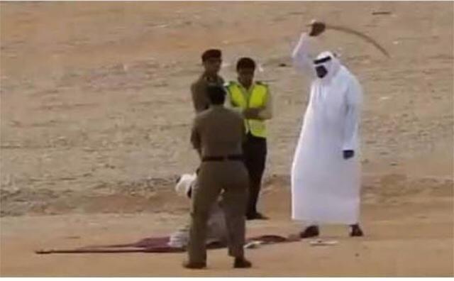 تصویر اعدام 37 تن در عربستان سعودی در یک روز