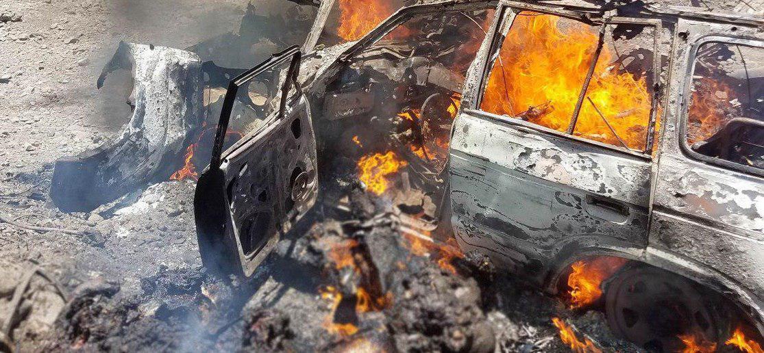 تصویر حمله دوباره جنگندههای سعودی به غیرنظامیان یمنی