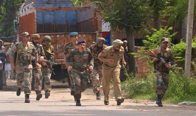 تصویر عملیات ضدتروریستی هند برای شناسایی عوامل وابسته به داعش