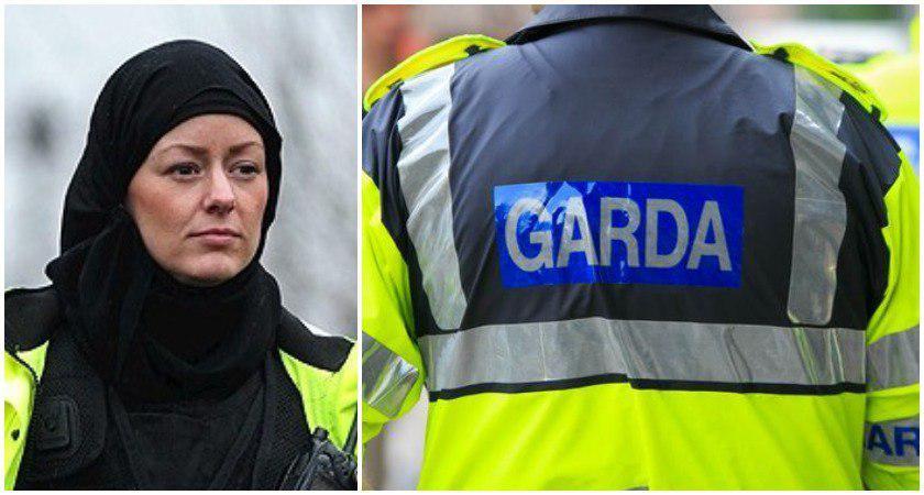 تصویر استفاده از حجاب برای زنان پلیس ایرلند آزاد میشود