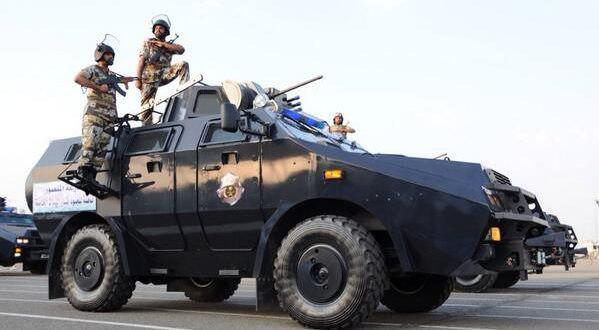 تصویر حمله نیروهای آل سعود به منطقه شیعه نشین العوامیه در اولین روزهای ماه رمضان