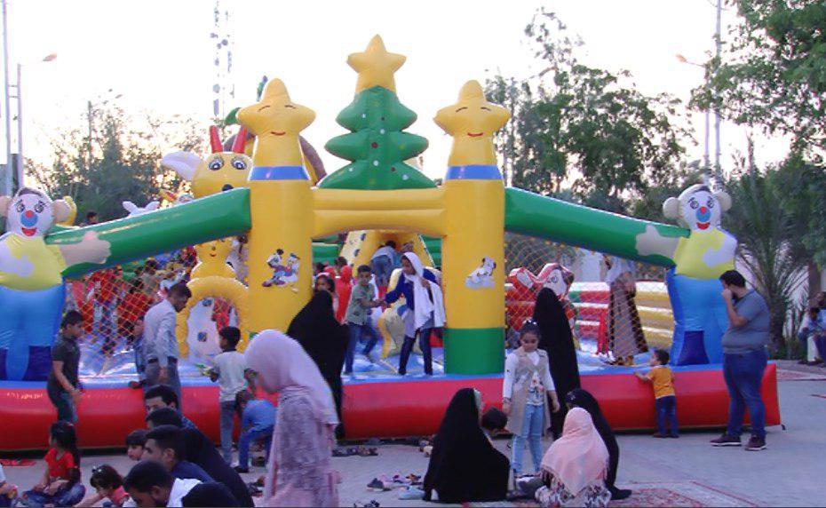تصویر اردوی تفریحی کودکان بی سرپرست از برنامه های رمضانی موسسه فرهنگی و نیکوکاری مصباح الحسین علیه السلام
