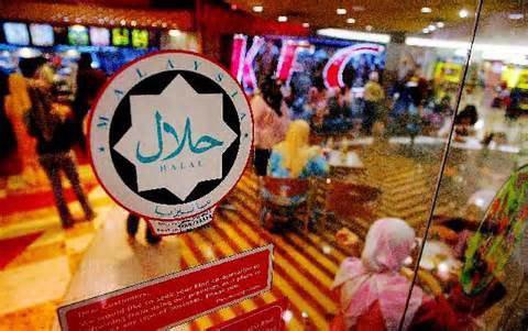 تصویر اخذ گواهینامه حلال توسط یک فروشگاه زنجیره ای ژاپن
