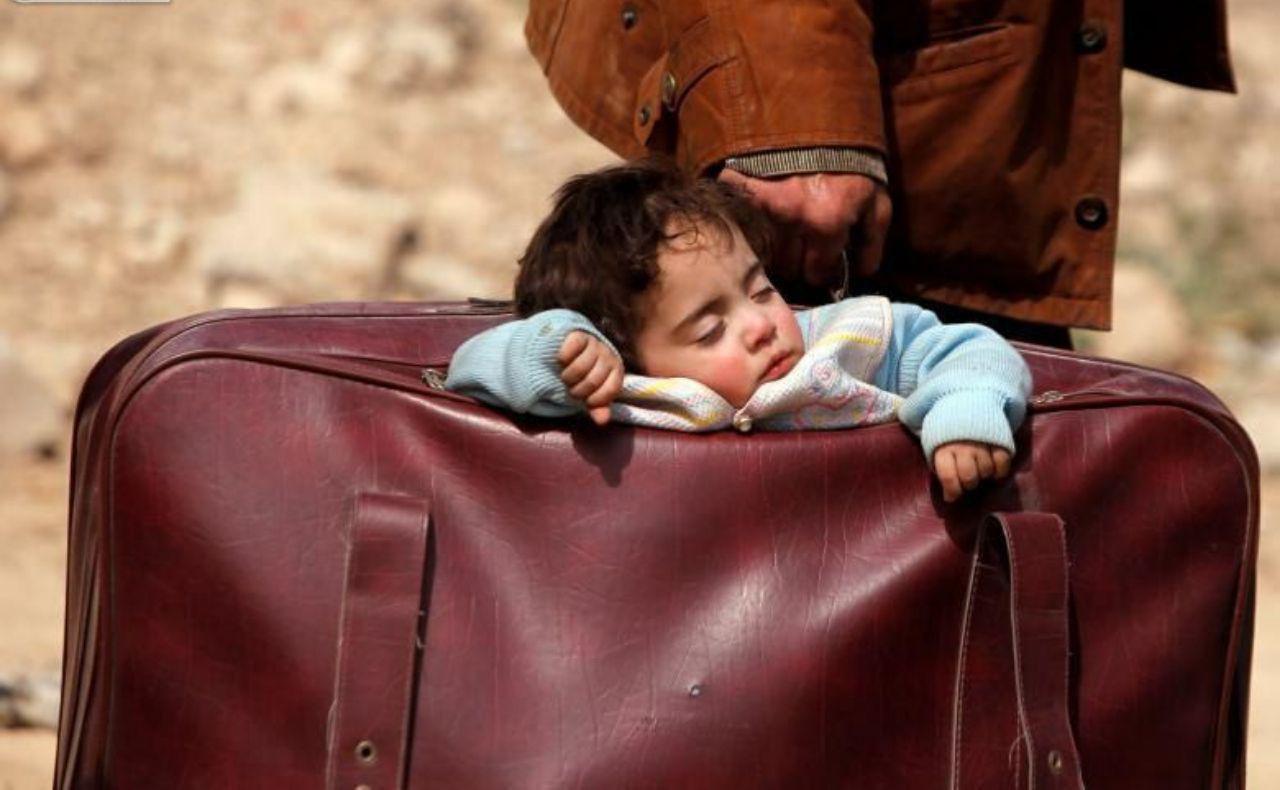 تصویر وجود بیش از 62 میلیون نفر آواره در جهان