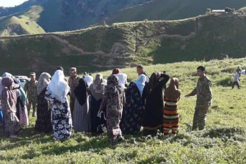 تصویر کشتار شیعیان در آشوبی مشکوک در زندان وحدت تاجیکستان