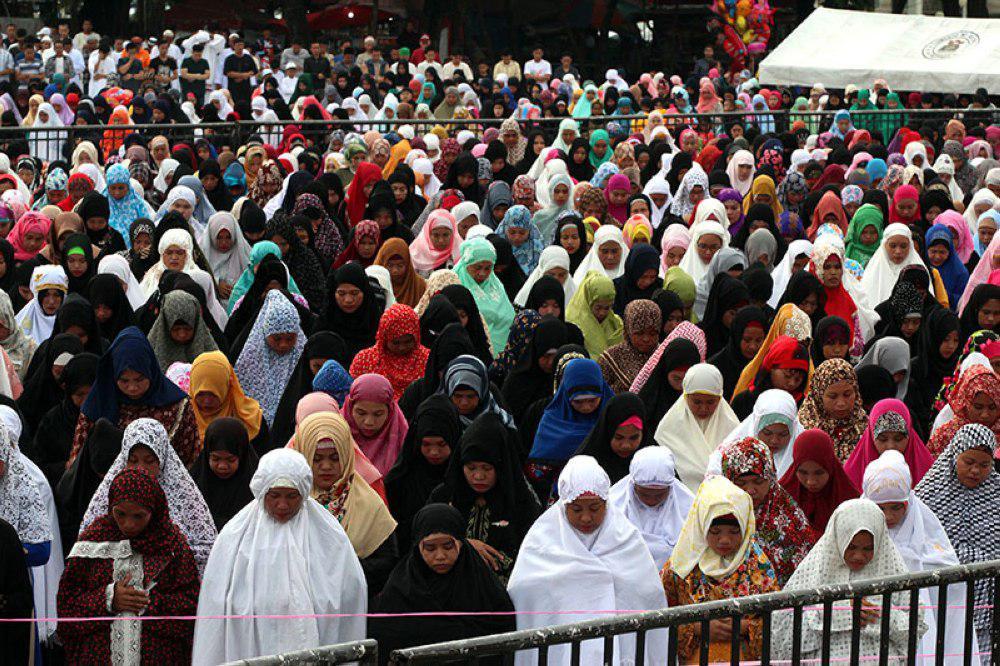 تصویر اعلام تعطیلی عید فطر از سوی رئیسجمهور کشور با اکثریت مسیحی فیلیپین