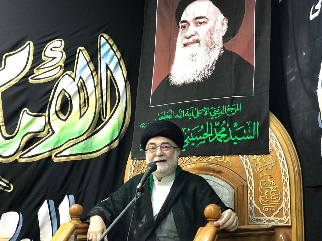 تصویر گرامی داشت هجدهمین سالگرد ارتحال آیت الله العظمی سید محمد حسینی شیرازی در کویت و سوریه
