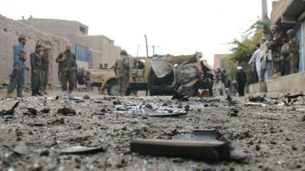 تصویر ۱۶ قربانی در انفجاری در جنوب شرق افغانستان