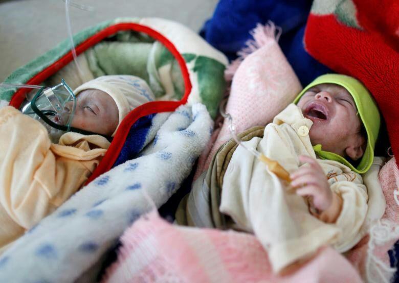 تصویر یونیسف: در هر یک ساعت ۳ نوزاد در یمن میمیرند