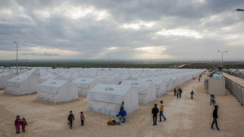تصویر رکورد شکنی شمار پناهندگان و مهاجران در جهان