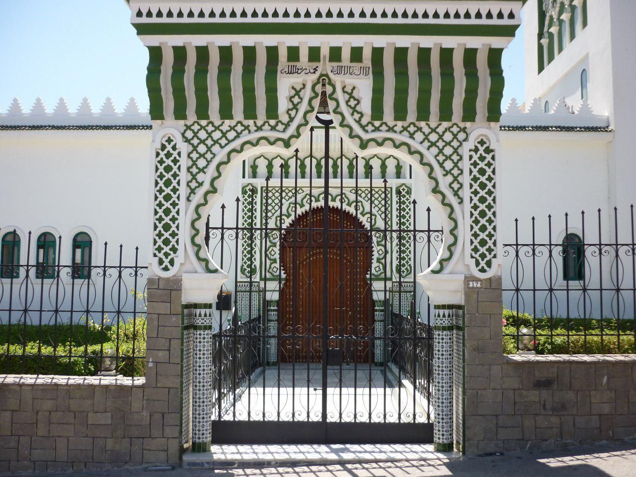 تصویر حمله مسلحانه به مسجد مولی المهدی اسپانیا