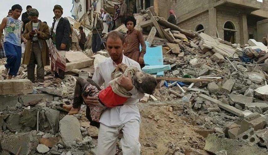 تصویر شهادت ۹ شهروند یمنی در حمله ائتلاف سعودی