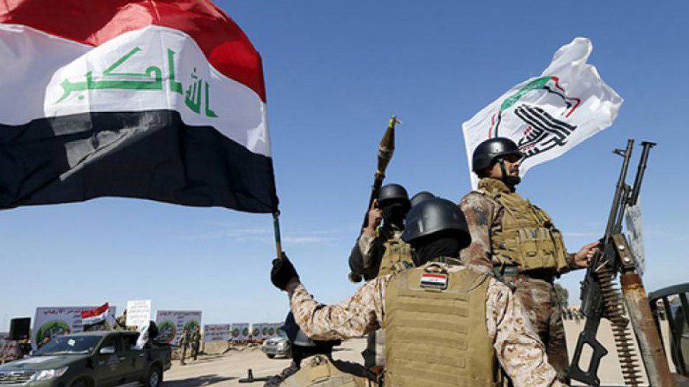 تصویر ادغام نیروهای مردمی الحشدالشعبی با ارتش عراق