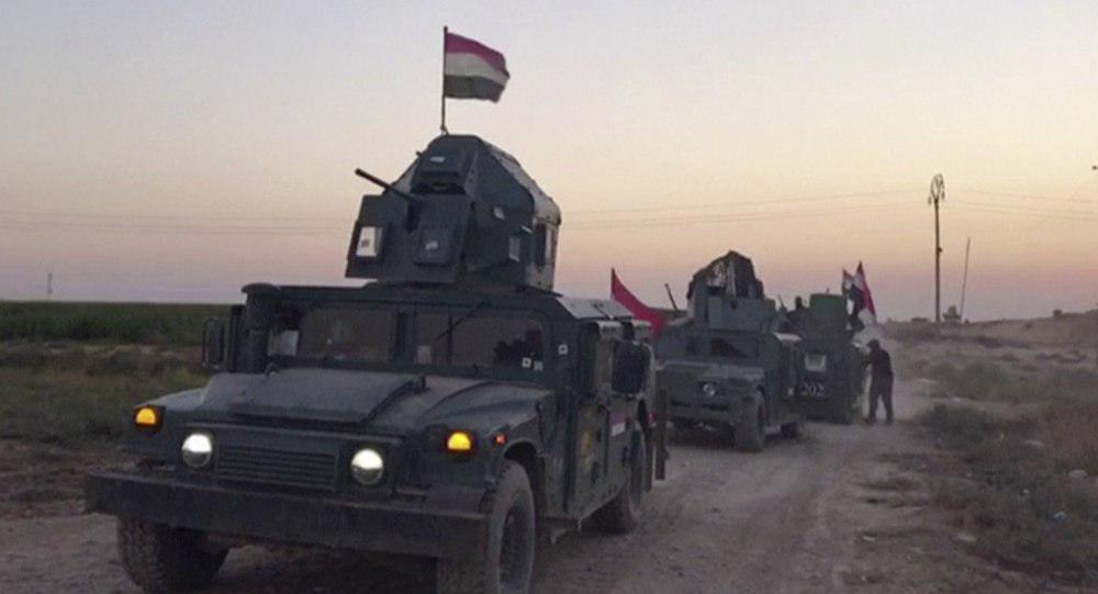 تصویر آغاز مرحله سوم عملیات پاکسازی مرزهای عراق با سوریه