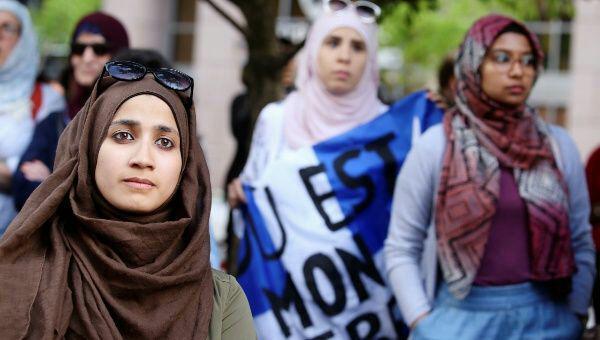 تصویر اقامه دعوای فعالان مسلمان و مدافعان آزادی علیه دین زدایی در کانادا