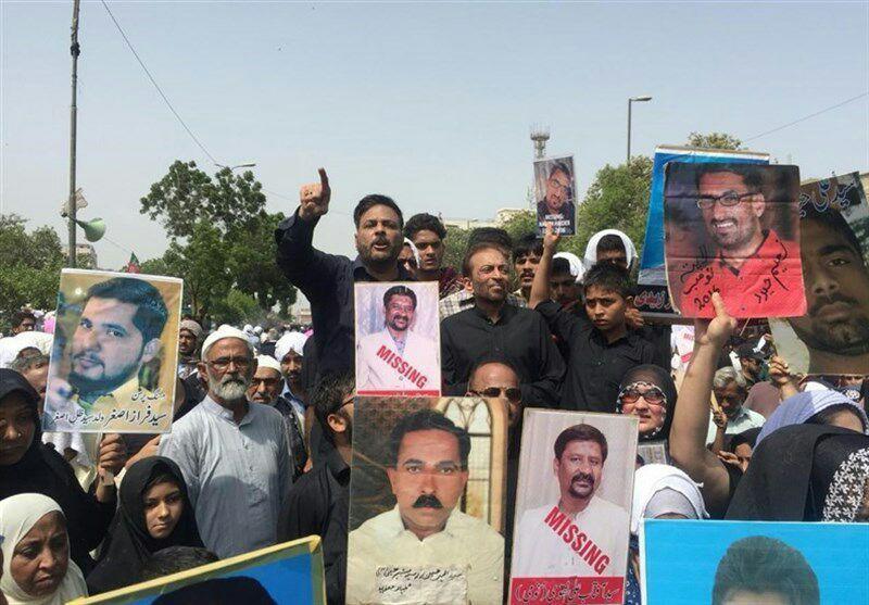 تصویر آزادی تعدادی از ربوده شدگان در پاکستان