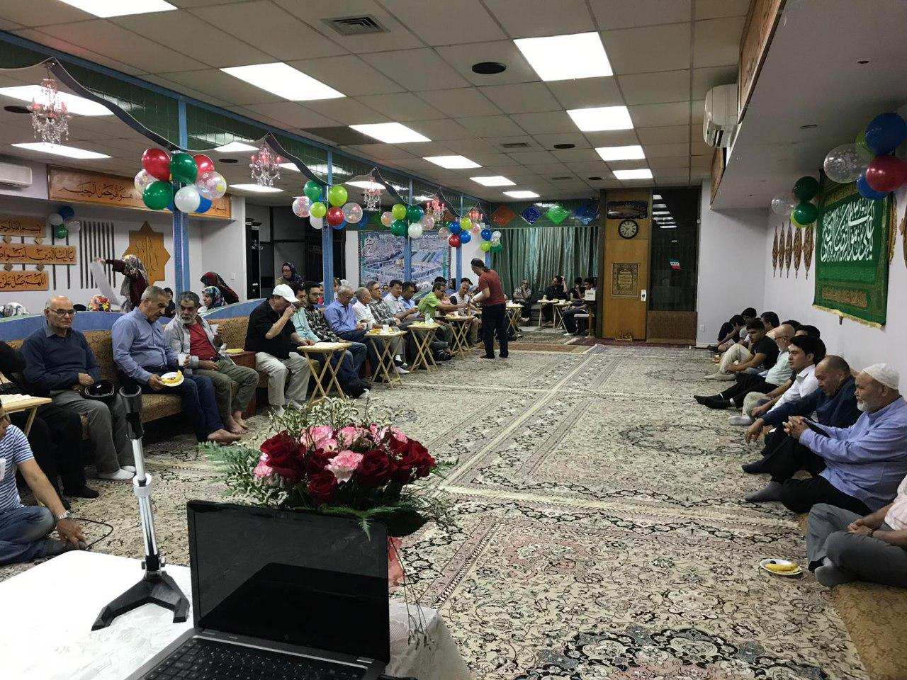 تصویر برگزاری جشن میلاد حضرت امام رضا علیه السلام در کانادا