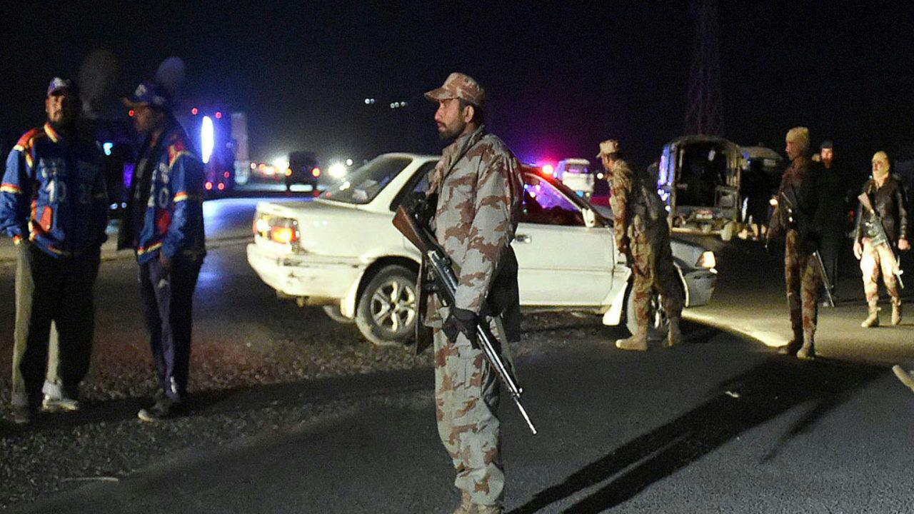 تصویر انفجار در کویته پاکستان