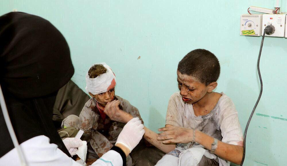 تصویر نام ائتلاف سعودی در لیست ناقضان حقوق کودکان باقی ماند
