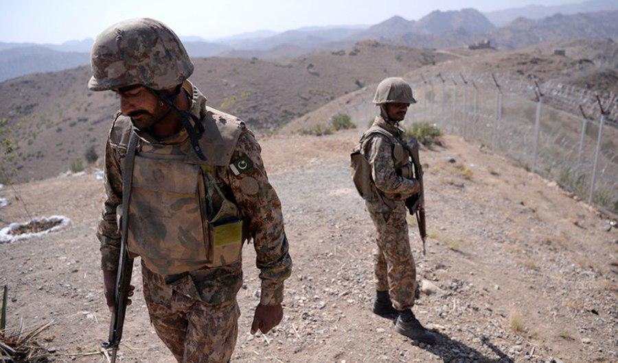 تصویر حملات تروریستی علیه ارتش پاکستان