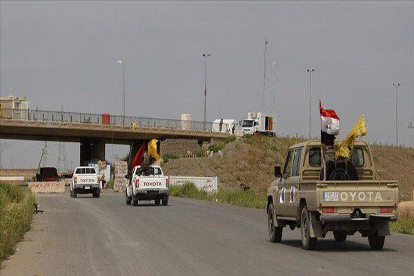 تصویر دفاتر الحشدالشعبی در عراق تعطیل شد
