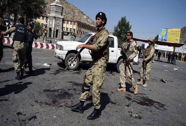 تصویر ۵ پلیس قربانی انفجار در کابل