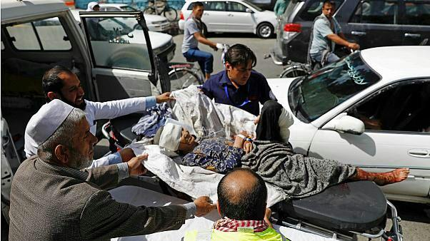 تصویر انفجاری مهیب کابل را لرزاند