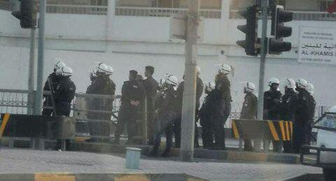 تصویر بازداشت 34 شهروند بحرینی در ماه گذشته