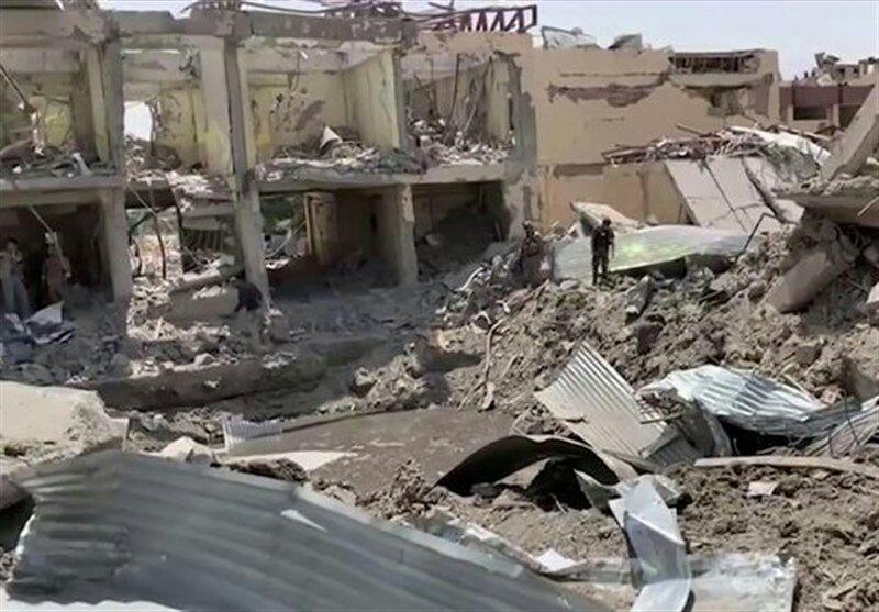 تصویر افزایش شمار قربانیان انفجار کابل