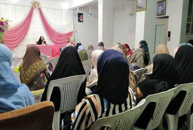 تصویر پایان فعالیت های تابستانه حوزه علمیه خواهران شهر مقدس کربلا