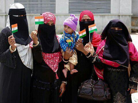 تصویر میلیونها مسلمان در معرض محرومیت از تابعیت در هند هستند