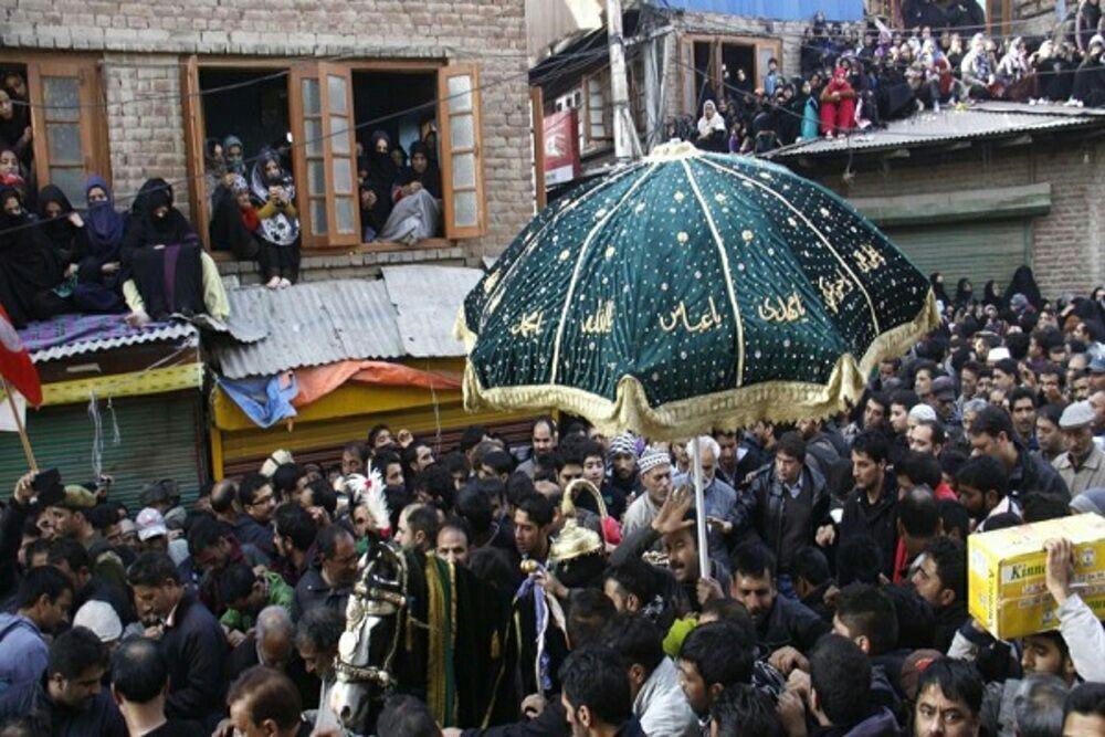 تصویر نگرانی شیعیان کشمیر از ادامه تنش ها و لطمه خوردن به برپایی عزاداری محرم