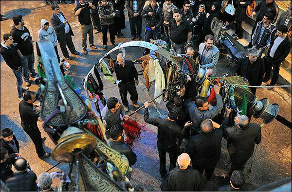 تصویر ادامه فشارهای ایران برای محدود نمودن عزاداران حسینی