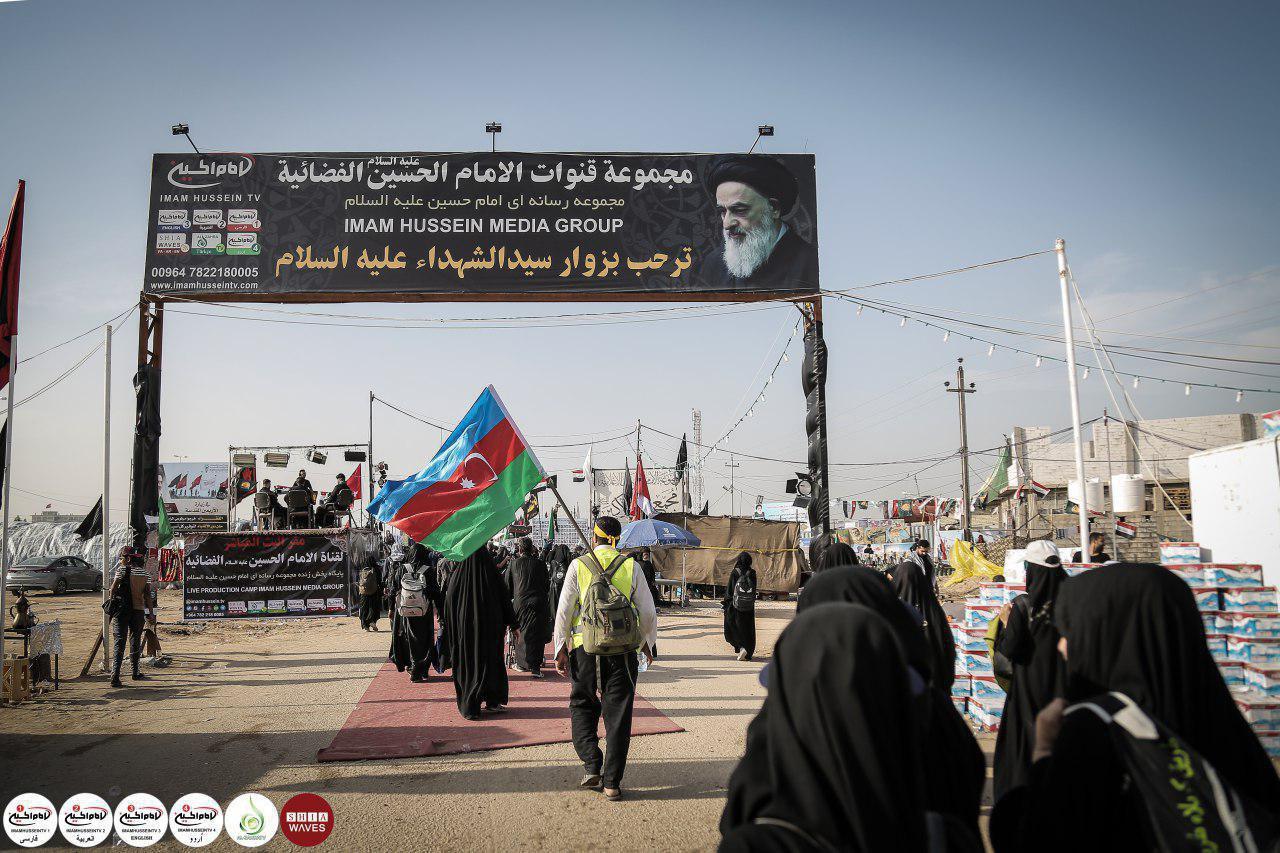 تصویر پوشش مراسمات عزاداریهای محرم، از پنج قاره جهان توسط مجموعه رسانهای امام حسین علیه السلام