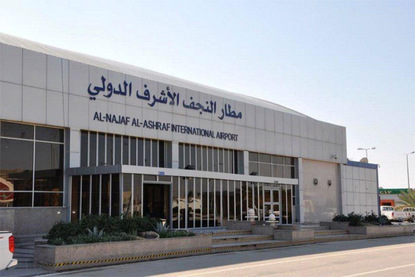 تصویر فرودگاههای بغداد و نجف در ایام عاشورا و اربعین،سیاست آسمان باز اجرا میکنند