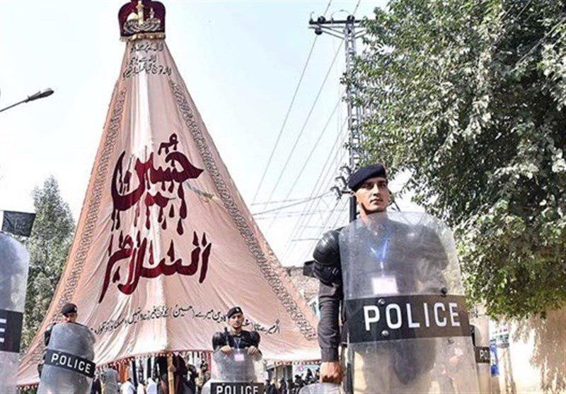 تصویر آغاز اجرای تدابیر ویژه امنیتی در پاکستان در آستانه عاشورای حسینی