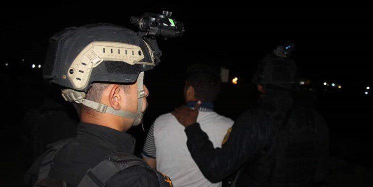 تصویر کشف و انهدام یک شبکه تروریستی در عراق