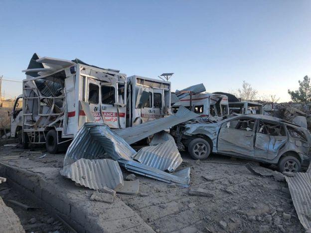 تصویر حمله تروریستی سنی های تندروی طالبان در ولایت زابل افغانستان