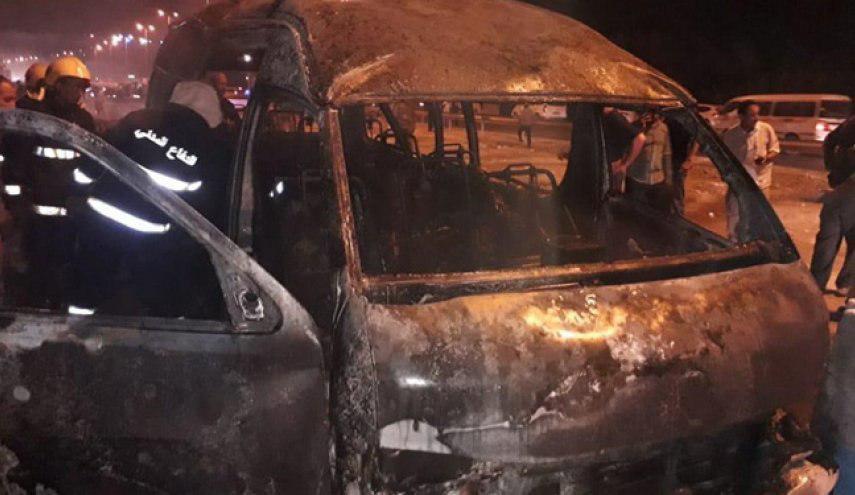 تصویر بازداشت عامل انفجار تروریستی در ورودی استان کربلا