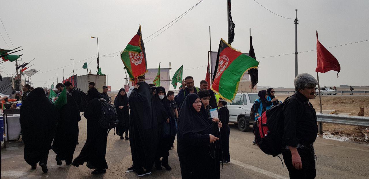 تصویر لغو ویزای زیارت اربعین حسینی برای افغانستانی های مقیم ایران