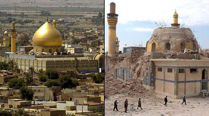 تصویر سالگرد تخریب حرم امامین عسکریین علیهما السلام در سامرا