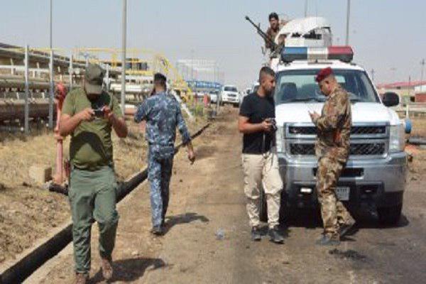 تصویر بازداشت ۵ عضو داعش در «موصل» عراق
