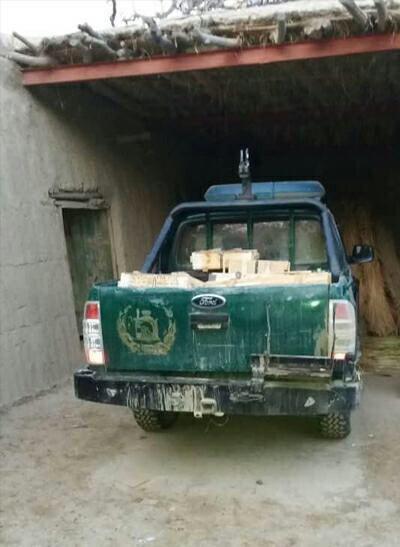 تصویر حمله عناصر طالبان به مقر پلیس در ولایت بلخ