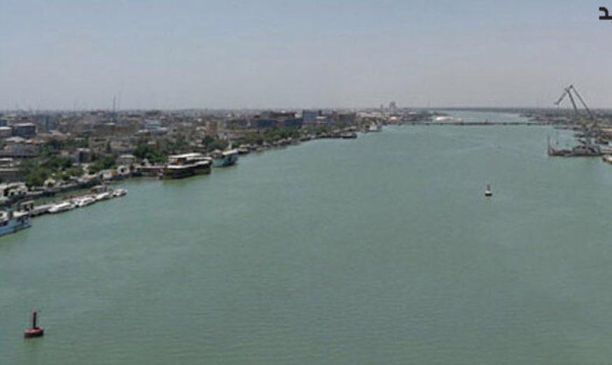 تصویر غرق شدن 4 زائر در شطالعرب بین ایران و عراق
