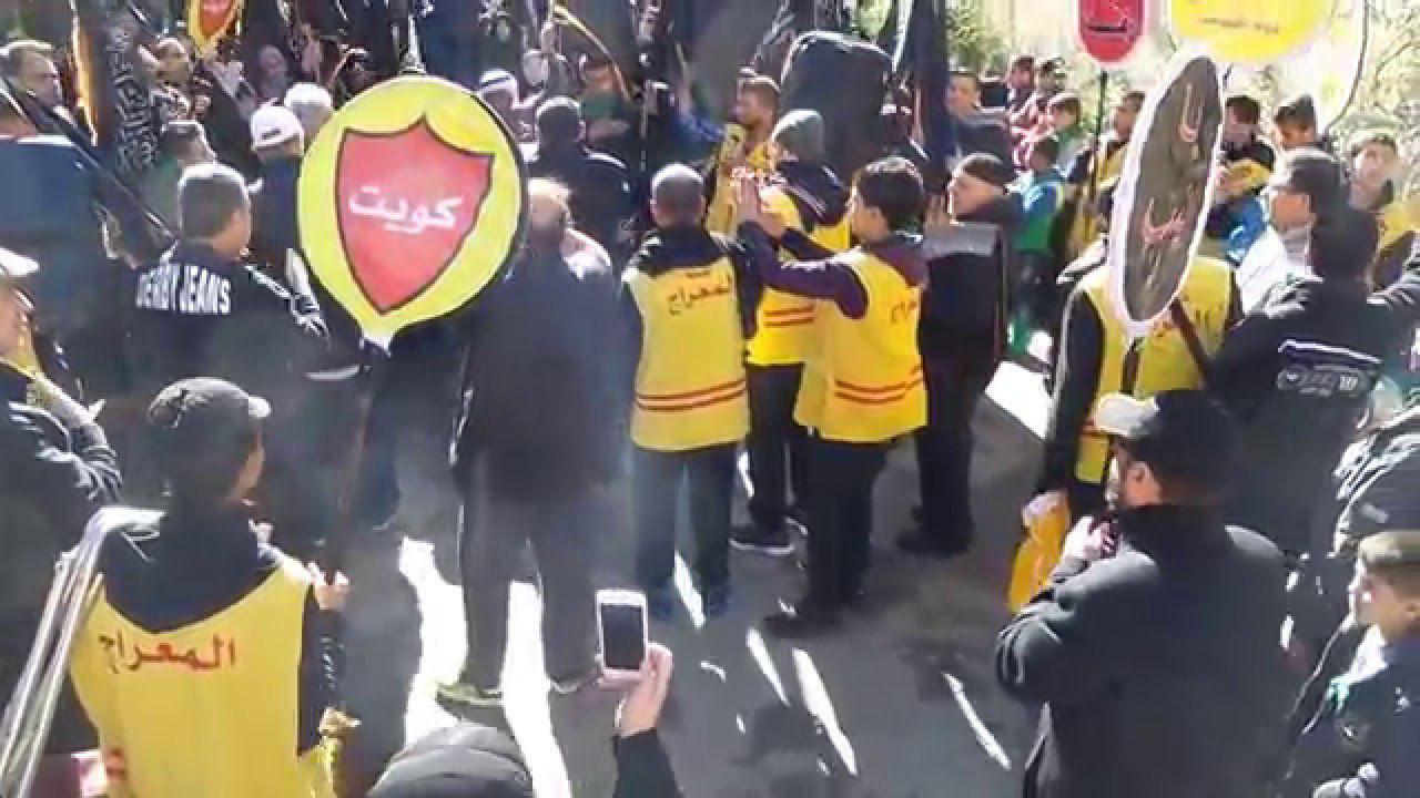تصویر نادیده گرفتن هشدارهای وزارت خارجه کویت برای سفر به عراق توسط شیعیان