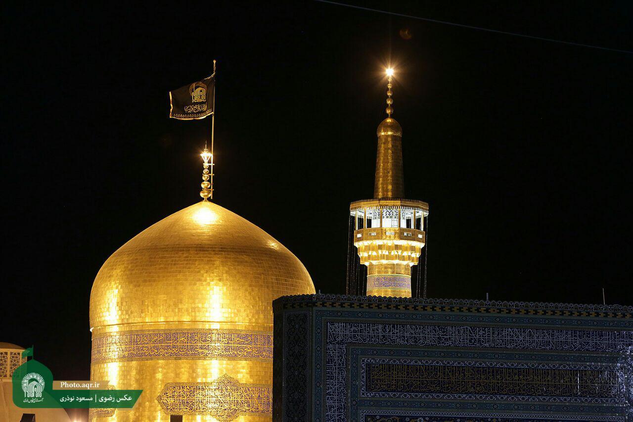 تصویر تشرف یک بانوی مسیحی به مذهب شیعه در شهر مقدس مشهد