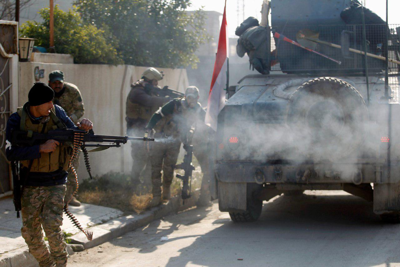 تصویر ۵ شهید و مجروح در حمله تروریستی در شرق تکریت عراق