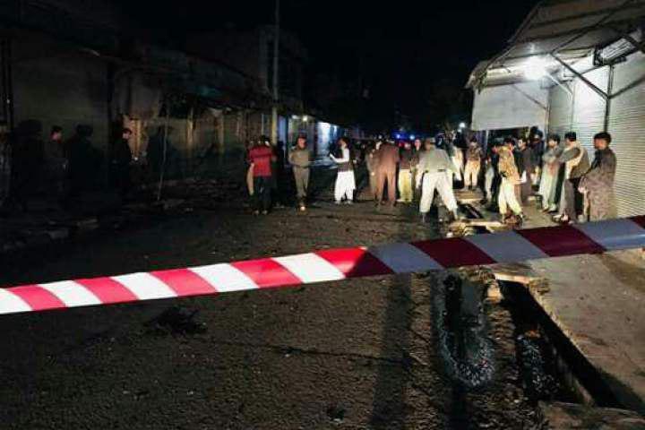 تصویر ۹ شهید و مجروح در انفجار در نزدیکی حسینیهای در هرات