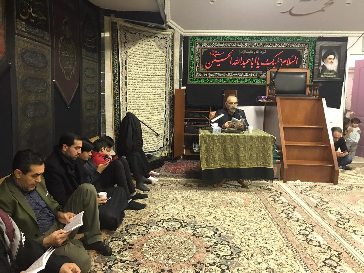 تصویر عزاداری شیعیان کانادا در مناسبتهای پایان ماه صفر